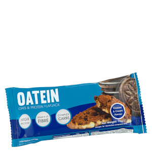 Oatein Cookies and Cream Flapjack Bar