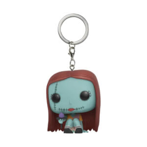 Disney The Nightmare Before Christmas Seated Sally Pocket Pop! Vinyl Keychain
