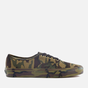 Vans Men's Authentic Mono Print Trainers - Classic Camo