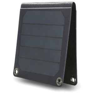 Foldable Solar Panel Charger - Black