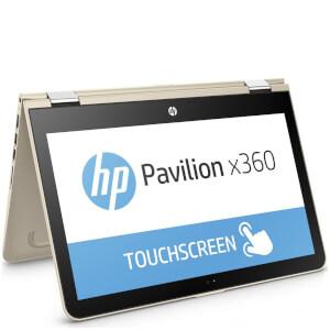 """HP 13-U112NA 13"""" Touch-Screen Laptop (Intel Core i7-7500U, 8GB, 256GB, 2.7GHz, Windows 10) - Gold - Manufacturer Refurbished"""