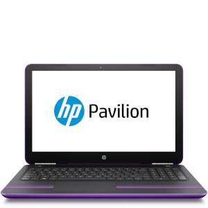 """HP 15-AU105NA 15.6"""""""" Laptop (AMD Dual-Core A9-9410, 8GB, 256GB, 2.9GHz, Windows 10) - Purple - Manufacturer Refurbished"""