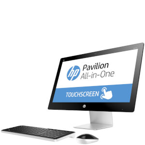 HP 23-Q230NA Touch-Screen Desktop (Intel Core i3 6100T, 8GB, 1TB, 2.5GHz, Windows 10) - Manufacturer Refurbished