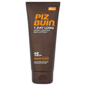 Piz Buin 1 Day Long Lasting Sun Lotion - Medium SPF15 100ml