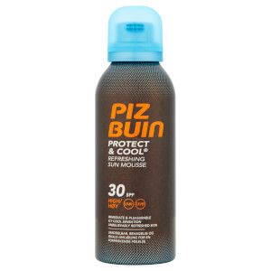 Piz Buin Protect & Cool Refreshing Sun Mousse - High SPF30 150ml