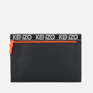 KENZO Women's A4 Pouch - Black