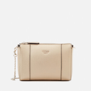Guess Women's Kamryn Mini Convertible Cross Body Bag - Gold