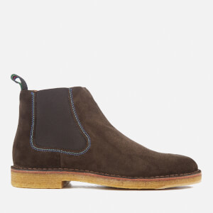 PS by Paul Smith Men's Dart Suede Chelsea Boots - Dark Brown
