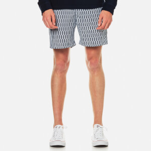 Orlebar Brown Men's Bulldog Hermosa Patterned Swim Shorts - Navy