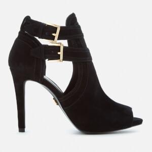 MICHAEL MICHAEL KORS Women's Blaze Open Toe Shoe Boots - Black