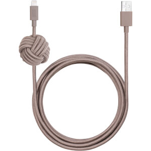 Native Union Night Cable - Taupe