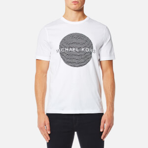 Michael Kors Men's Wave Circle Logo T-Shirt - White
