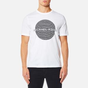 Michael Kors Men's Wave Circle Logo T-Shirt - White