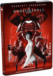 Ghost In The Shell - 4K Ultra HD Zavvi Exclusive Limited Edition Steelbook (Includes Digital Download)