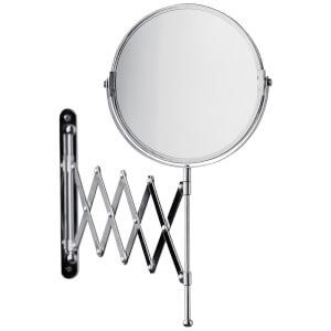 Premier Housewares Wall Mounted Mirror - Chrome