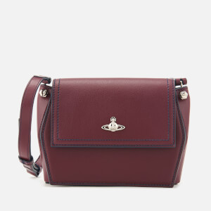 Vivienne Westwood Women's Cambridge Cross Body Bag - Bordeaux
