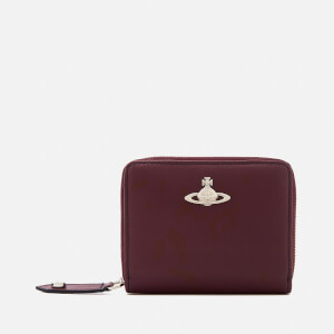 Vivienne Westwood Women's Cambridge Small Zip Around Wallet - Bordeaux