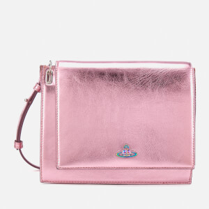 Vivienne Westwood Women's Venice Metallic Cross Body Bag - Pink