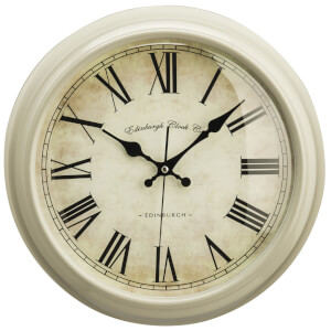 Fifty Five South Vermont Wall Clock - Clay