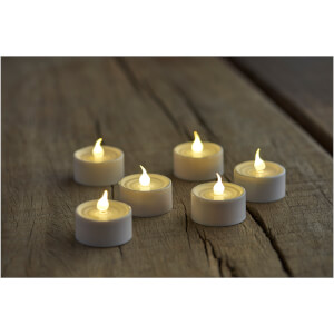 Sirius Lone Set of Tealights - Set of 6 - White