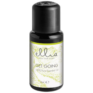 Ellia Aromatherapy Essential Oil Mix for Aroma Diffusers - Get Going 15ml