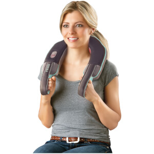 HoMedics Neck and Shoulder Massager with Heat - Black: Image 2