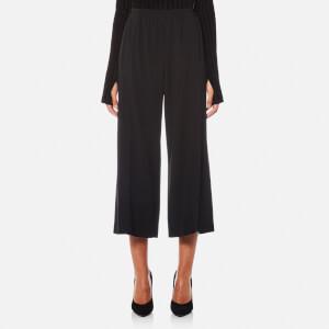 Helmut Lang Women's Crepe Culotte Satin - Black
