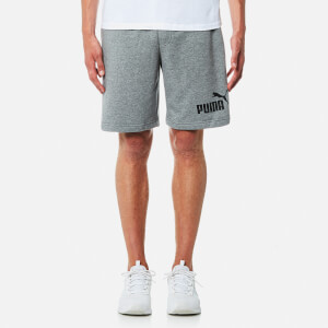 Puma Men's Essential No.1 Sweat Shorts - Medium Grey Heather