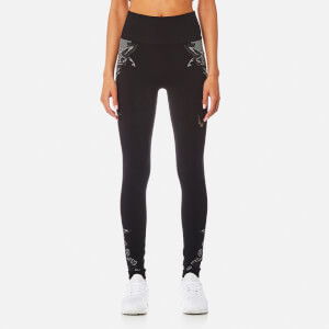 Lucas Hugh Women's Hummingbird Leggings - Black