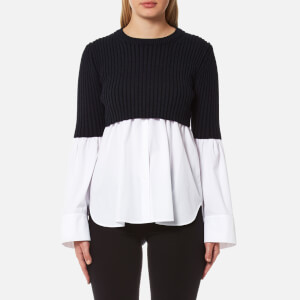 KENZO Women's Cotton Poplin Jumper - White