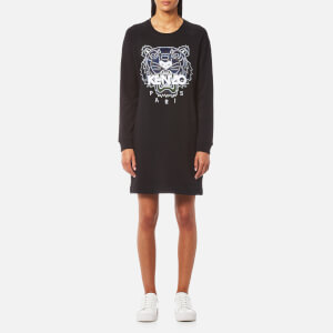 KENZO Women's Relaxed Tiger Sweatshirt Dress - Black