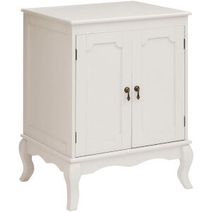 Marcella Cabinet with Double Doors - Ivory