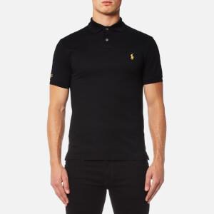 Polo Ralph Lauren Men's Slim Fit Mesh Polo Shirt - Black