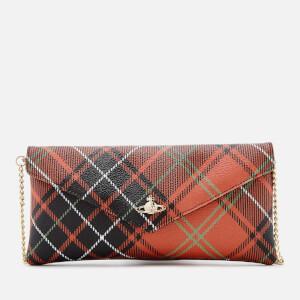 Vivienne Westwood Women's Edinburgh Check Print Flap Wallet - Charlotte