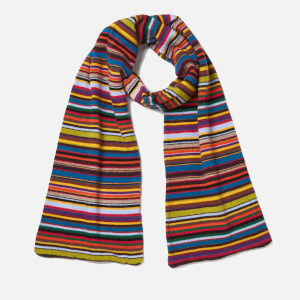 Paul Smith Men's Rainbow Scarf - Multi