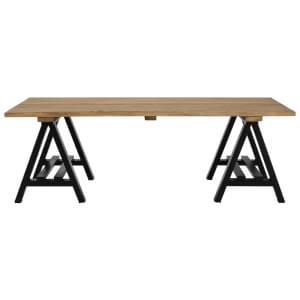 Fifty Five South Hampstead Coffee Table - Pine Wood/Iron