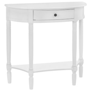 Fifty Five South Heritage Console Table - Antique White
