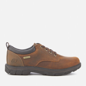 Skechers Men's Segment Bertan Oxford Shoes - Chocolate
