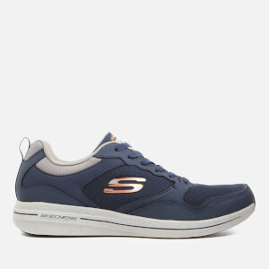 Skechers Men's Burst 2.0 Trainers - Navy/Orange