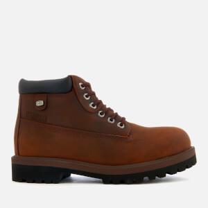 Skechers Men's Sergeants Verdict Waterproof Boots - Dark Brown