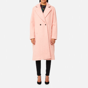 PS by Paul Smith Women's Bouclé Coat - Pink