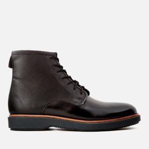 Clarks Men's Modur Hi Leather Lace Up Boots - Black