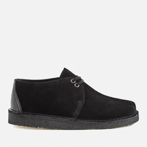Clarks Originals Men's Desert Trek Shoes - Black Suede