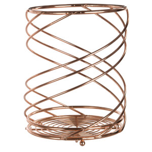 Kuper Utensil Holder - Rose Gold