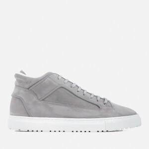 ETQ. Men's Mid 2 Nubuck Trainers - Alloy