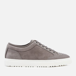 ETQ. Men's Low 2 Nubuck Trainers - Granite