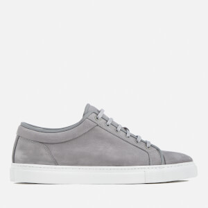 ETQ. Men's Low 1 Nubuck Trainers - Alloy