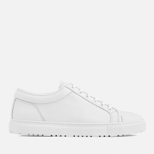 ETQ. Men's Low 1 Rugged Full Grain Leather Trainers - White