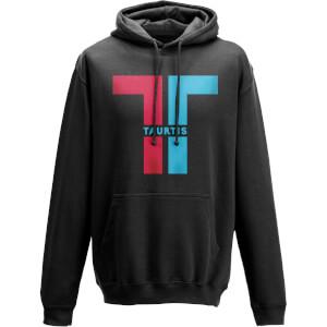 Sweat à Capuche Homme Taurtis Split Logo Insignia - Noir