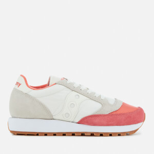 Saucony Women's Jazz Original Trainers - Coral/Cream